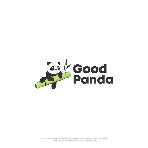 Bamboo logo with the title 'Good Panda'