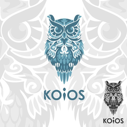Fierce logo with the title 'Detailed Logo concept for KOIOS'