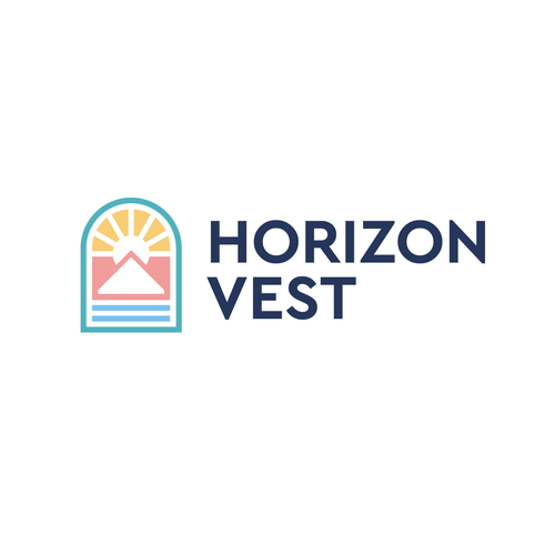 Mountain brand with the title 'Horizon Vest'