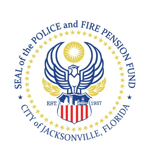Seal logo with the title 'Logo for Jacksonville Police and Fire Pension Fund'