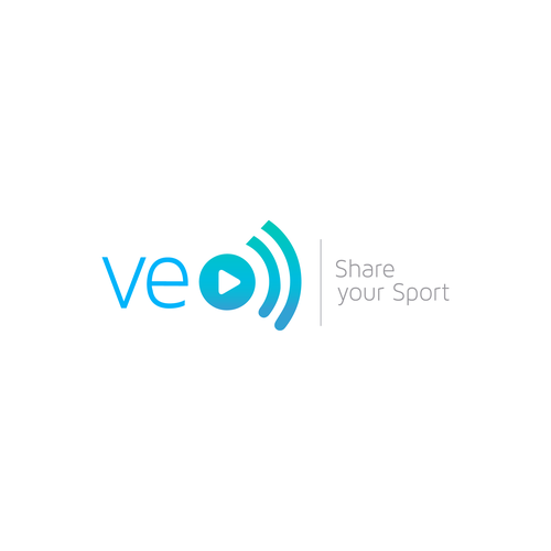 Broadcasting logo with the title 'Logo for streaming sport web'