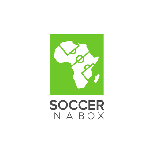 Discover logo with the title 'Soccer in a Box'