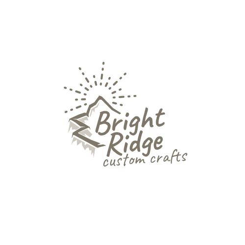 Scenery logo with the title 'Bright Ridge'