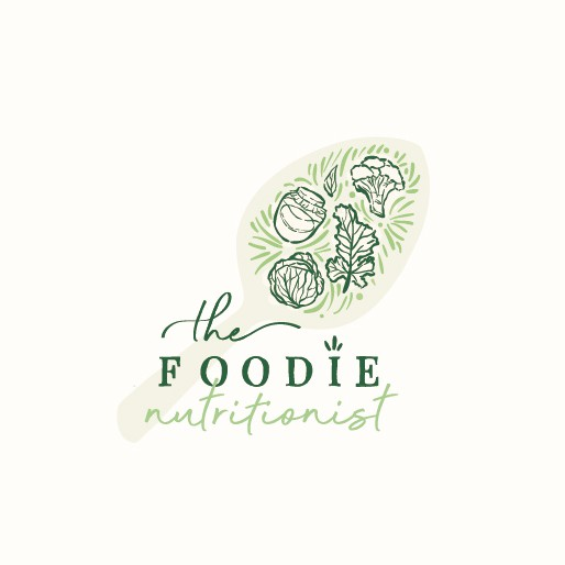 Foodie design with the title 'Logo for a holistic nutritionist'