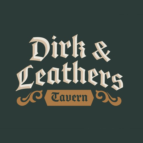 Tavern logo with the title 'Medieval Tavern logo'