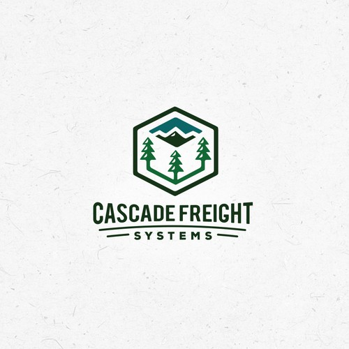Peak logo with the title 'Freight Systems Logo'