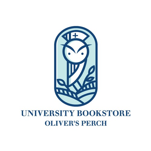 Nursing logo with the title 'Oliver's Perch Bookstore'