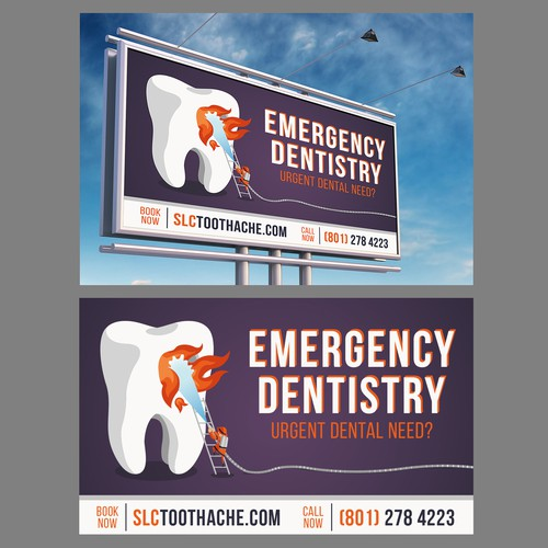 Emergency design with the title 'Billboard Design'