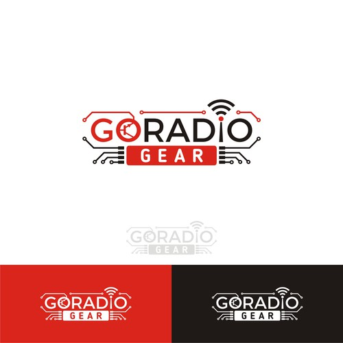 Beacon logo with the title 'logo for go radio product'