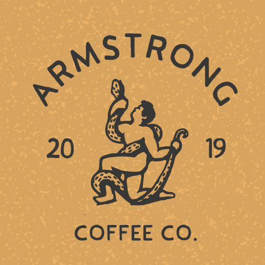 Americana logo with the title 'Id for coffee roaster'