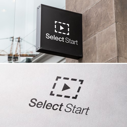 Start design with the title 'Select Start logo'
