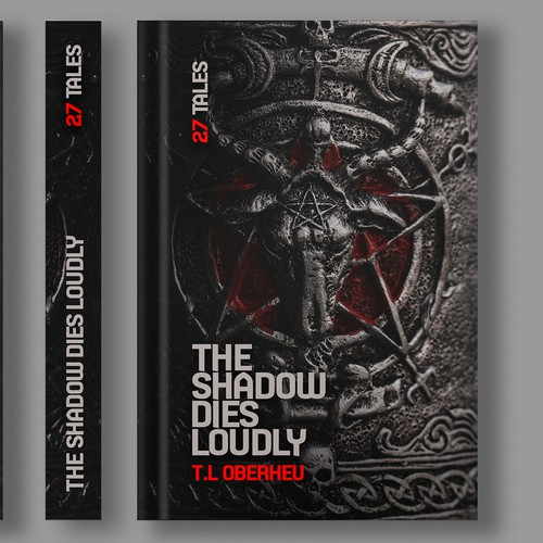 Horror design with the title 'Horror Book Cover'