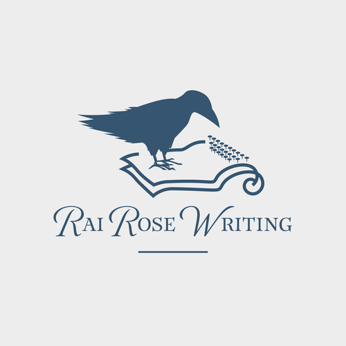 Writing logo with the title 'author'