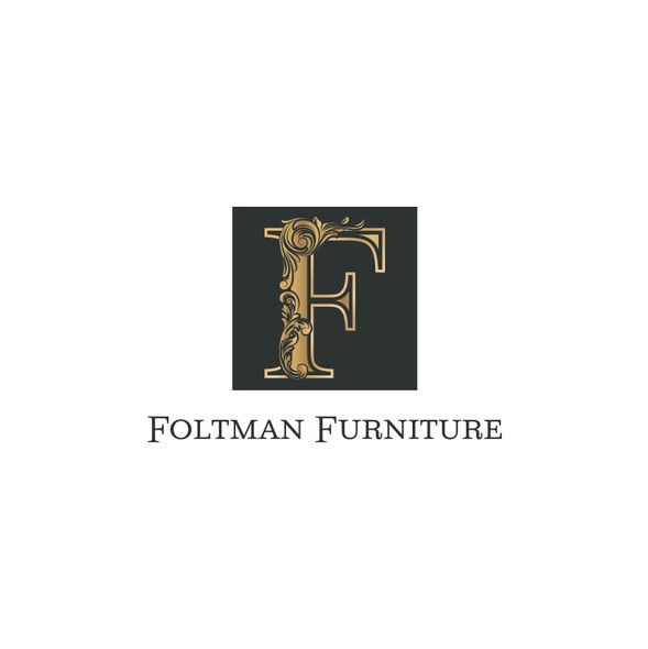 Furniture logo with the title 'Logotype'