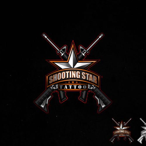 Commando logo with the title 'Shooting Star Tattoo'