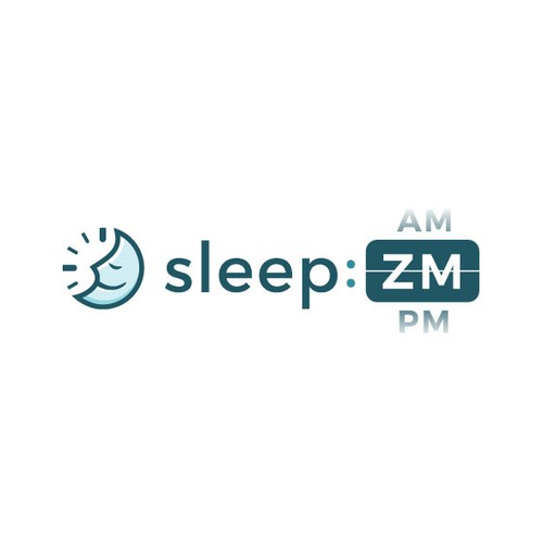 Time design with the title 'Winning Logo Design for sleep ZM'