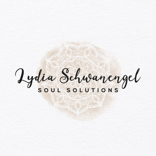 Mandala logo with the title 'LydiaSoulSolutions Logo'