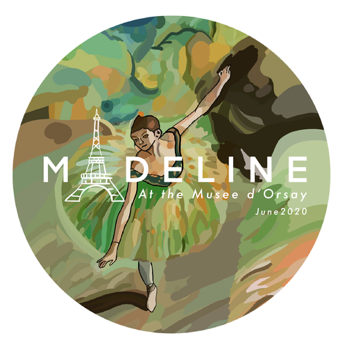 Dance t-shirt with the title 'MADELINE '