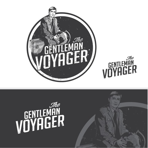 Pack logo with the title 'The Gentleman Voyager'