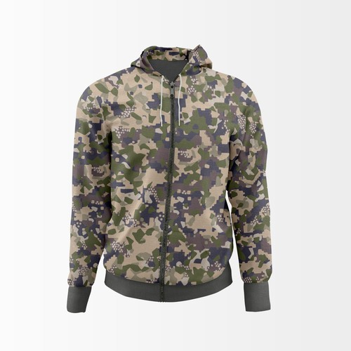 Camouflage design with the title 'Camouflage pattern'