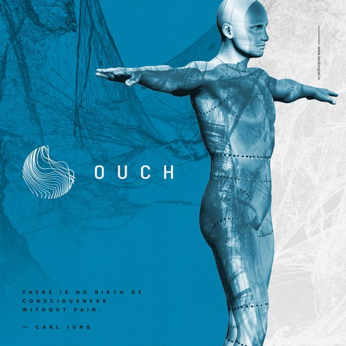 Body design with the title 'Being and wellbeing for OUCH'