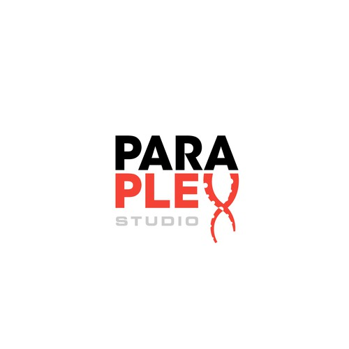 Octopus brand with the title 'Paraplex Studio Logo Concept'