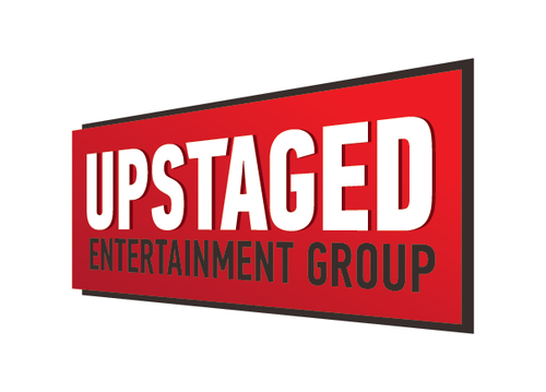 Dimensional logo with the title 'Upstaged Entertainment Group Logo'