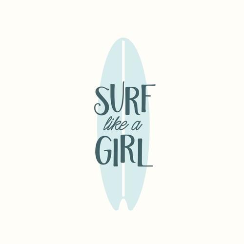 California logo with the title 'Vintage Retro Logo Surf Board Company'