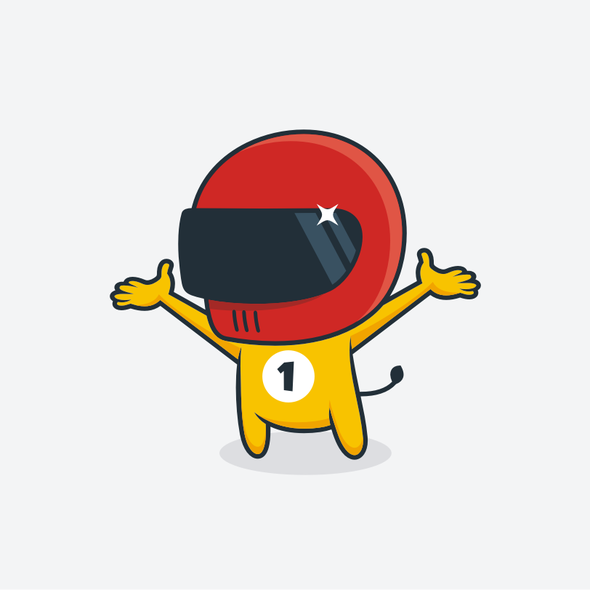 Avatar design with the title 'Design different avatars or crazy protagonists for a fun and sports app - boboto corp.'