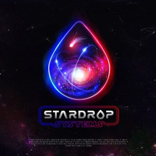 Logo with the title 'Star Drop'