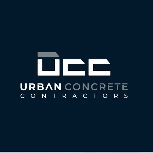 Concrete design with the title 'ucc logo'