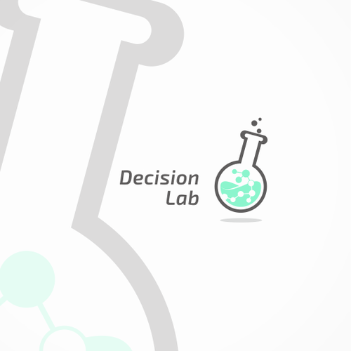Molecule logo with the title 'Lab Logo'