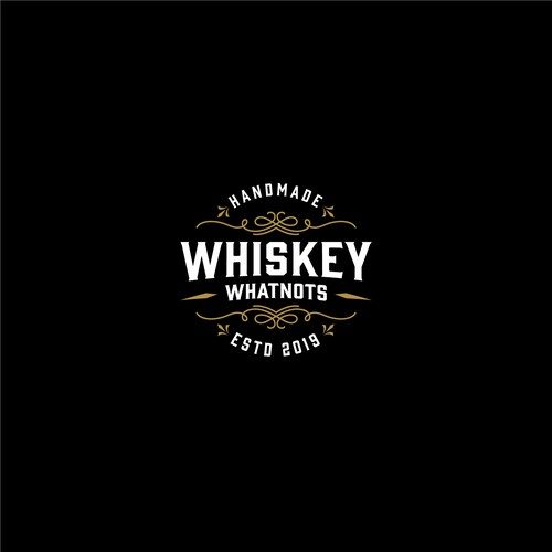 Quality logo with the title 'Whiskey Whatnots Logo'