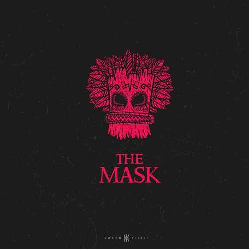 Studio design with the title 'The Mask Studio'