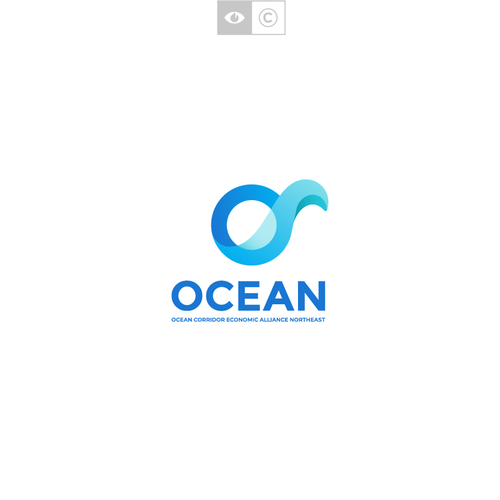 O design with the title 'OCEAN'