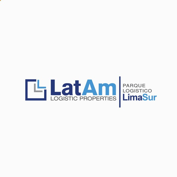 Clipart logo with the title 'Logo design for LatAm Logistic Properties'