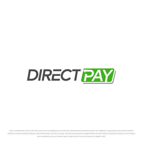 Transfer logo with the title 'Direct pay'