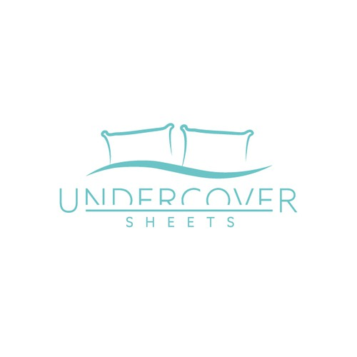 Bedding logo with the title 'Logo concept for bedding company'