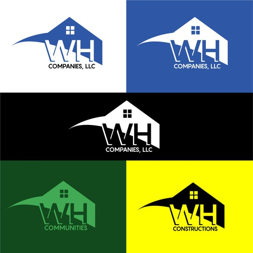 Responsive logo with the title 'WH Companies'