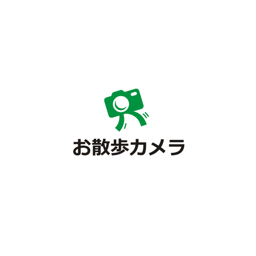 Walk logo with the title 'Walk Camera Logo'