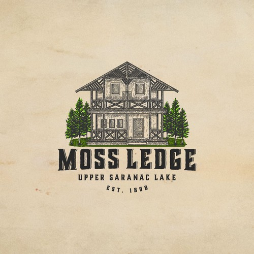Villa logo with the title 'Moss Ledge'