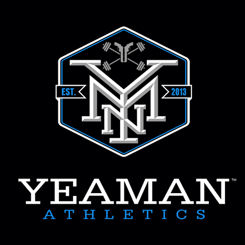Gym logo with the title 'Yeaman Athletics'