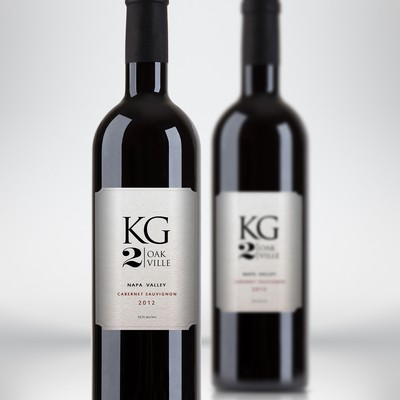 Design a captivating label for a Napa Valley wine brand!