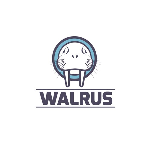 Walrus design with the title 'WALRUS'