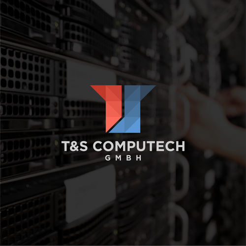IT design with the title 'T&S Computech'