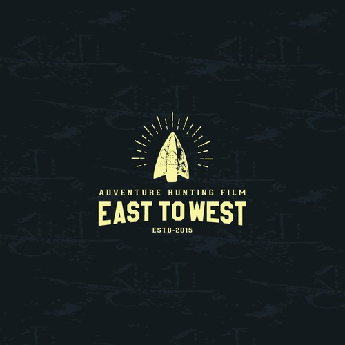 Hunting logo with the title 'East to West'