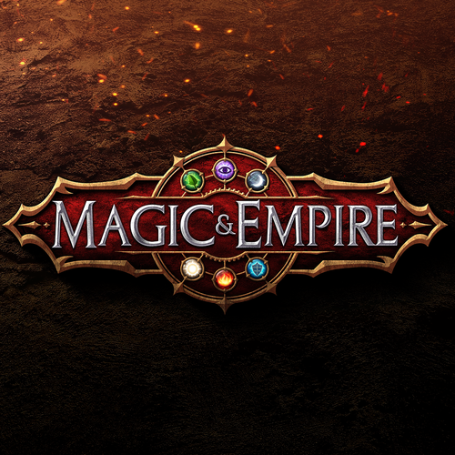 Medieval design with the title 'Logo design for Magic Empire'