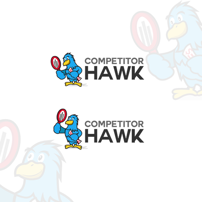 Animal Themed Logo Design: Competitor Hawk