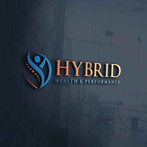 Orthopedic design with the title 'Logo for Hybrid'