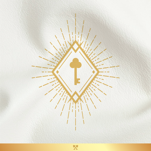 Ray design with the title 'Luxurious branding for locksmith specialist'